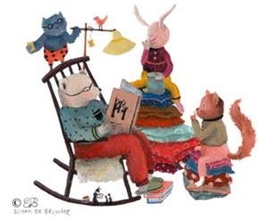 Lekker lezen samen - verhaaltjes om van te smullen!